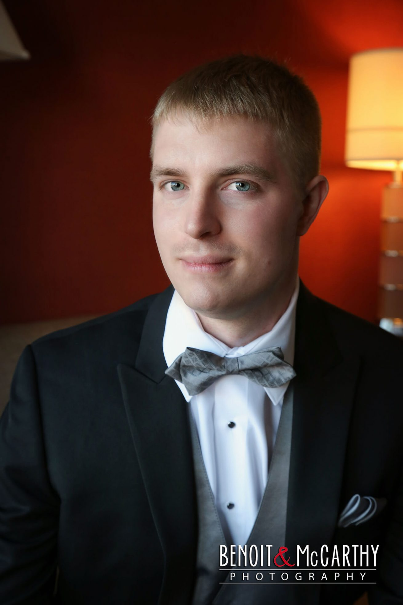 Groom Portrait at Marriott Long Wharf